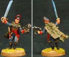 Colonel Commissar Ibram Gaunt by Hobbittzu