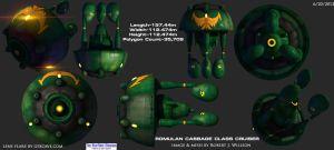 Romulan Cabbage Class Orthos by XFozzboute