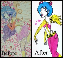 Before and After by NiveousLamia