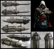 Edward Kenway Hidden Blades by alsquall