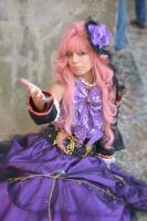 Luka Megurine from the sandplay by EllyMello