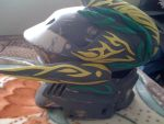 Hayabusa helmet with crown details by h0lysharks