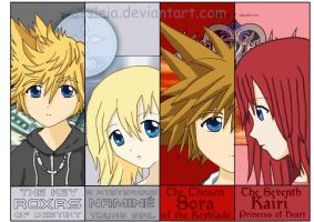 .:KH Bookmarks:.  _Set One_ by Assleia