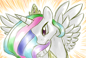 GRRR CELESTIA SMASH! by XTiMe-WaRpEdX