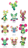 maractus variations by extyrannomon