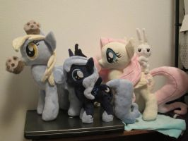 my little pony group plush by Little-Broy-Peep