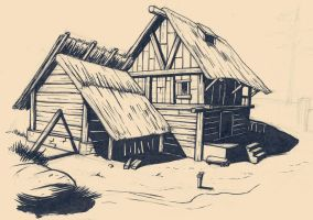 Sketchbook_farm by yannou