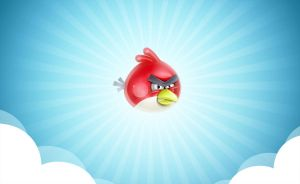 Angry bird by Melaamory