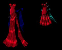 Red Dress Designs by Licia-Jewel