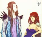 -_Daniel_and_Blaze_- by VanilliaWings