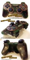 Bioshock PS3 Controller by Edge-Works