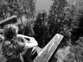 Looking Down on Life. by Michies-Photographyy