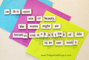 The Daily Magnet #108 by FridgePoetProject