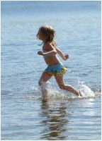 Playing In The Water II by Eirian-stock