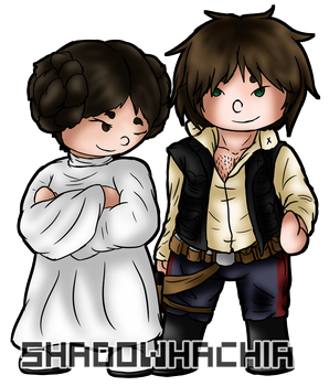 SW: Half-witted... scruffy-looking... Nerf-herder! by ShadowHachia