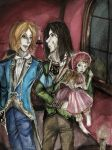 Lestat, Louis and Claudia by yamiblood