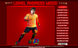 Lionel Messi by HeshamGFXER