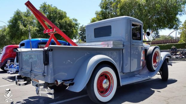 1931 Ford Pickup tow truck by CZProductions