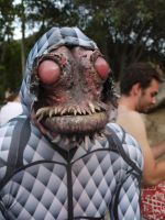 Fish Monster is alive by panicmunkeyfx