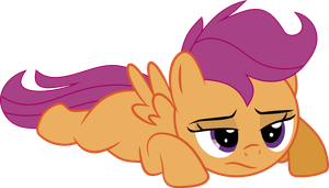 Sad Scootaloo by tgolyi