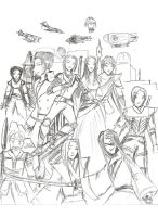 Character Group by Aneirin-Aryon