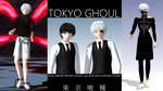 Tokyo Ghoul Kaneki Model Version Up and New costum by hzeo