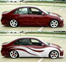 02 Civic LX by fastworks