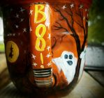 BOO! I'm having a sale on last Halloween mugs!! by InkyDreamz