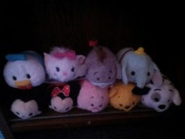 Tsum Tsums!! by SkunkyRainbow270