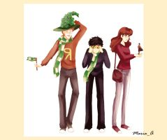 Quidditch Souvenirs by MariaAart