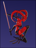 Darth Talon by KelleeArt