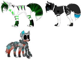 Adoptable batch (open) by Bespattered94