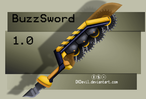 The BuzzSword by DKDevil