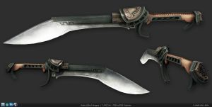 Kukri of the Foregoer by 9thKnight
