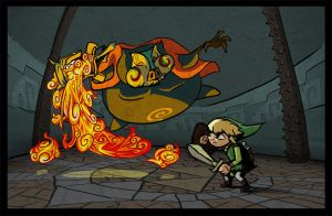Jalhalla windwaker battle by p1et