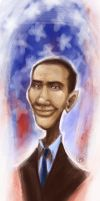 Obama by SpookyChan