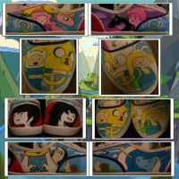 Adventure Time Shoes! by Lord-of-the-Fandoms