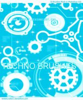 Techno Brushes by Coby17