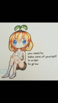 growth doodle  by Mahepii