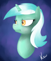 Lyra Isn't Pleased by Kunomasu