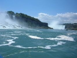 American and Canadian Falls 2 by MagnificentObsession