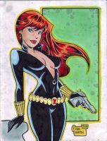 BLACK WIDOW by RODEL MARTIN (10102014)A by rodelsm21