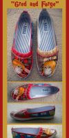 'Gred and Forge' Shoes by JessieQ