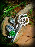 Celtic Forest Fantasy Key by Starl33na