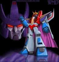 Starscream and galvatron by UNICRON-WMD