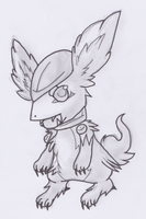 Fake-Digimon thing by The-Cactus-Runner