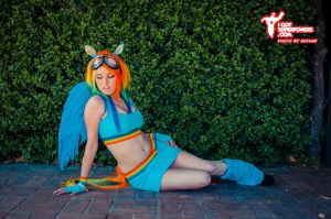 My Little Pony Rainbow Dash Cosplay by Tiffany by BabyGirlFallenAngel