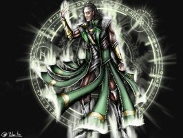 Loki ghost by SvPolarFox