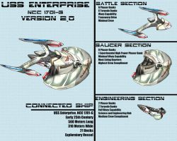USS Enterprise NCC 1701-G 2.0 by Sathiest-Emperor
