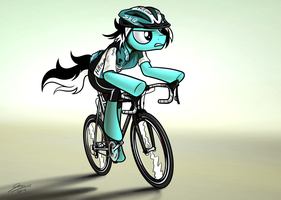 Cycle Pony - Commission for LateMetal by Dori-to